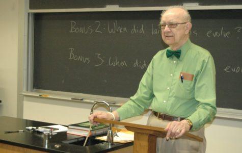 Popular Chemistry professor scales back