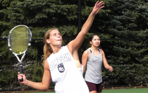 Women's tennis starts spring season with high hopes