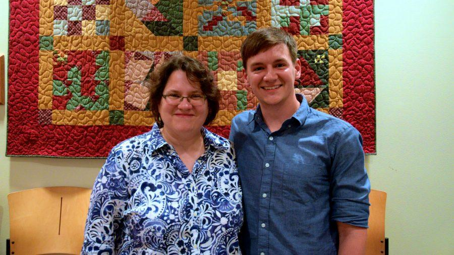 Sam+Ross+inspired+many+students+and+faculty%2C+including+CoryAnne+Harrigan%2C+a+professor+of+English.+Harrigan+has+known+Ross+since+she+was+in+graduate+school+and+babysat+Ross.