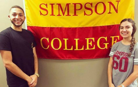 Simpson student body elects first sophomore president, VP