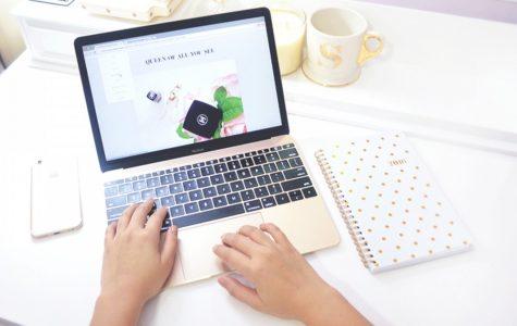 Blogging helps students develop skills