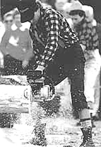 Lumberjacking: The epitome of sportsmanship