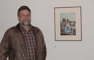 Richmond's gallery show illustrates concepts he teaches