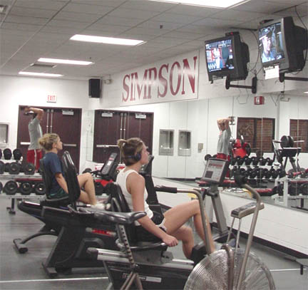 Revamped fitness center leads to more use