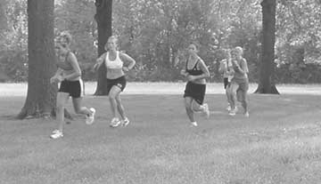 Young runners lead of the pack