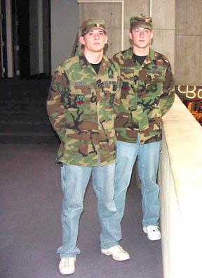 Real men wear camo