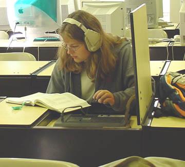 Simpson gets new language lab