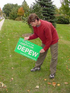 DePew excited for upcoming election