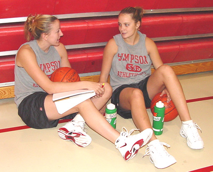 Women's basketball team puts in many hours on and off the court