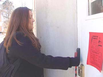 WEB EXCLUSIVE! Security cards monitor entry to buildings, violate privacy?
