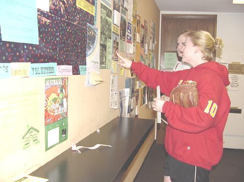 Students explore summer living options