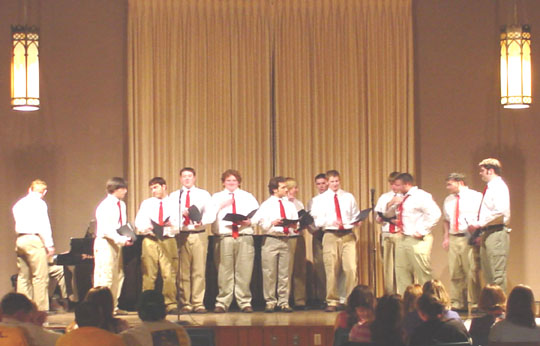 WEB EXCLUSIVE! All College Sing delightful even with low participation