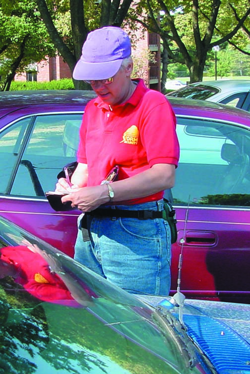 Unresolved parking tickets create questions
