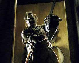 Texas Chainsaw is movie massacre