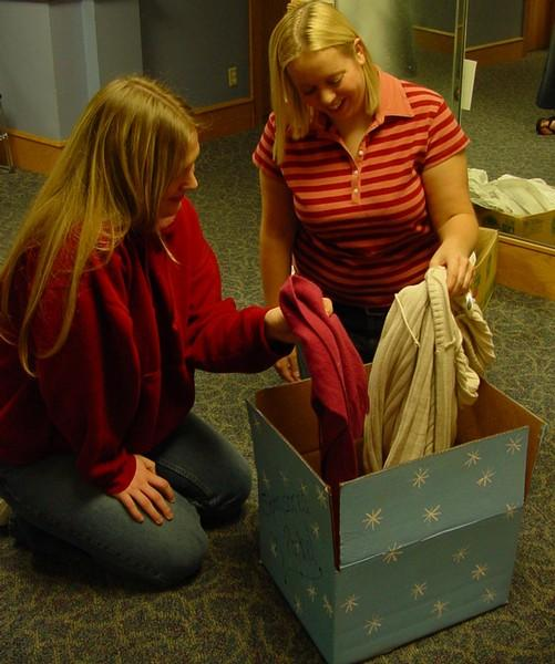 Panhellenic Council warms up winter for elementary students