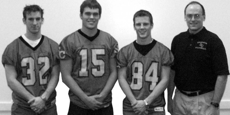 Football players, coach receive high honors