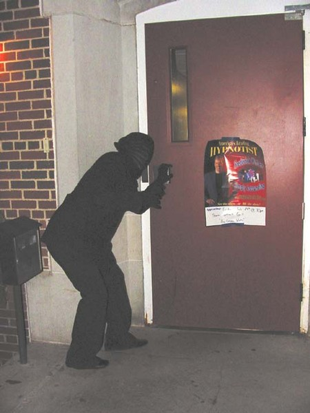 Helpful' students help breach campus security rules
