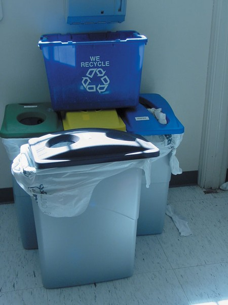 Reduce, reuse, recycle at Simpson