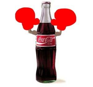 Coke wins!