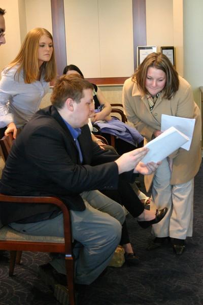 Students visit Des Moines Justice Building