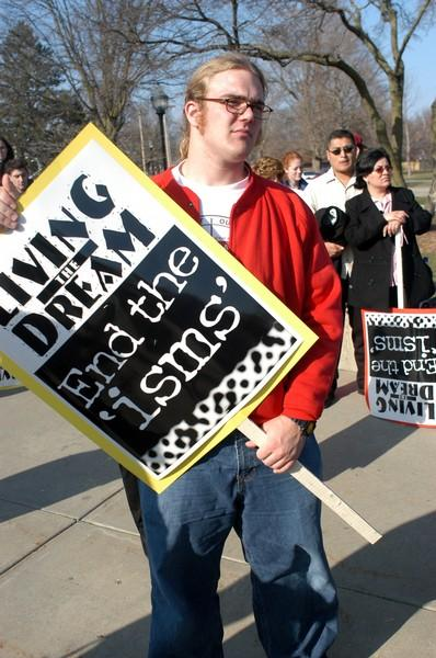 Simpson organizes second march to 'end the 'isms