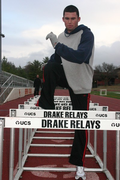 Leichty warms up for winter track season