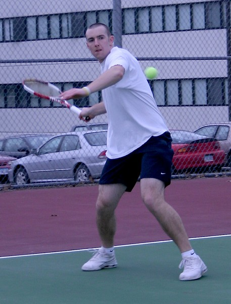 Men's tennis team begins spring season