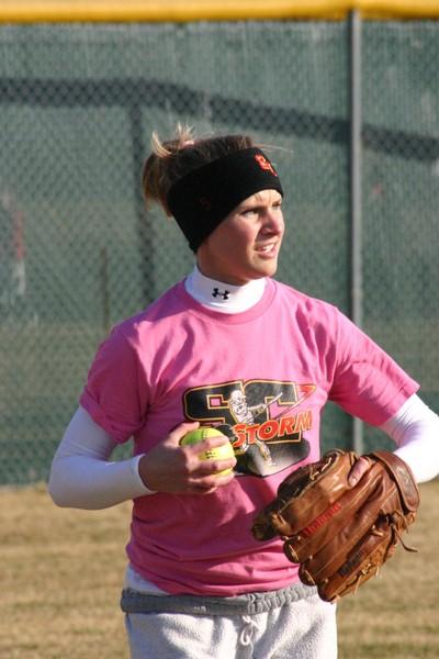 Senior leads Storm softball