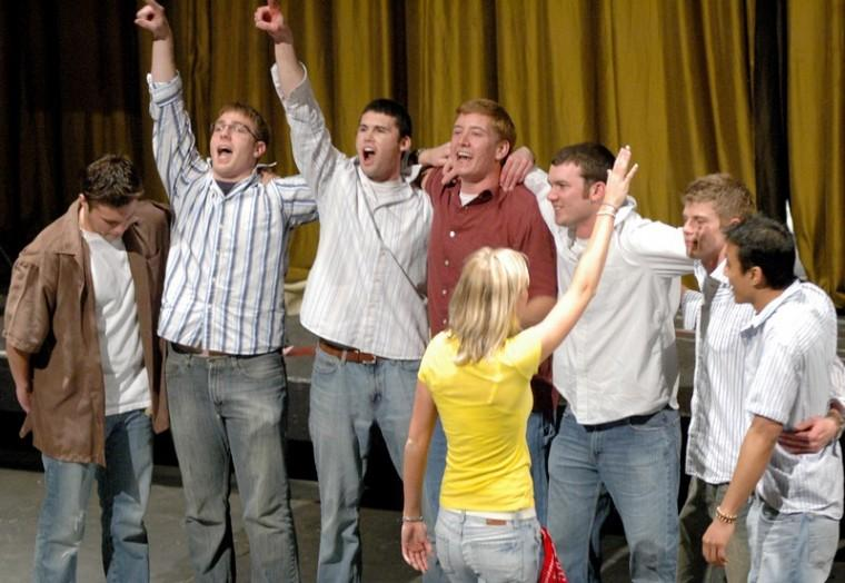 Revived All College Sing sees more than 100 participate