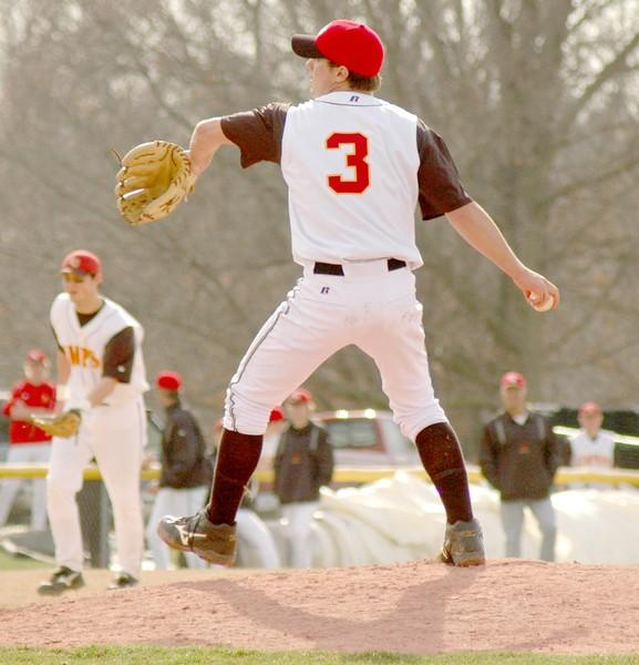 Storm baseball sweep Luther