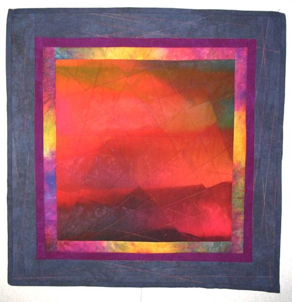 Artist+displays+quilts+in+Farnham+Galleries