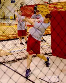 Baseball hits off pre-season