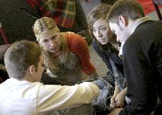 Students learn valuable lessons in history role-playing games