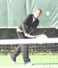 Women's tennis awaits Iowa Conference team tournament bid