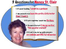 5 Questions for Nancy St. Clair