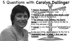 5 Questions for Carolyn Dallinger