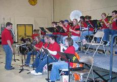 Pep band helps crowd feel the 'Storm Beat'