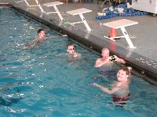 Special needs swimming program helps team gain perspective