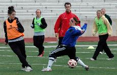 Fall sports engage in spring practice for the first time