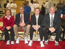 Coaches don sneakers to fight cancer