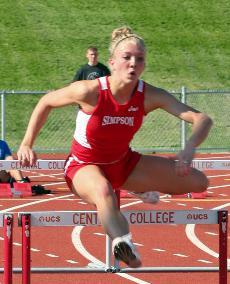Bucklin qualifies for Nationals in 55-meter hurdles