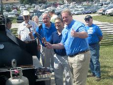 Franken stumps for Harkin, Culver at annual Steak Fry
