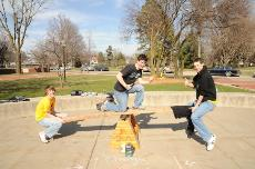 APO, LXA hit the playground and teeter totter for cystic fibrosis