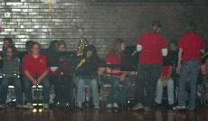 Pep band branches out
