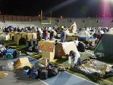 A night in the life of a homeless teen-Reggie's Sleepout raises awareness