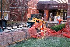Steam pipe repairs a sure sign of winter