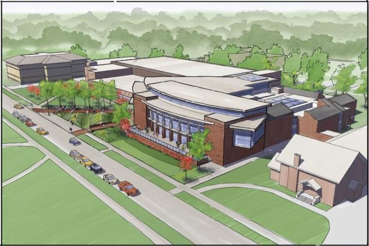 New Campus Center Calls For New Plan
