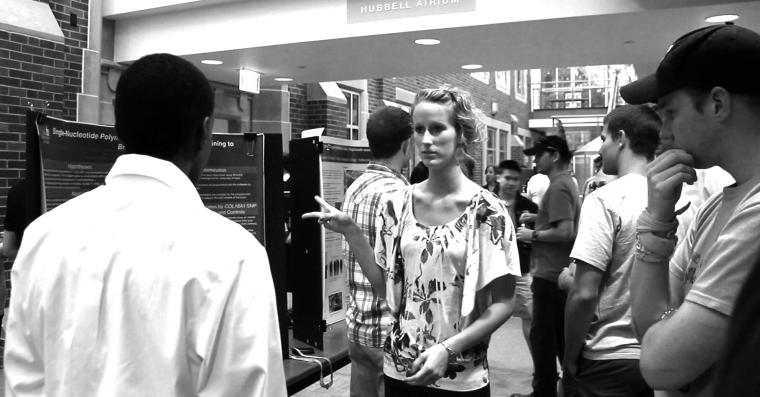 Students present undergraduate research