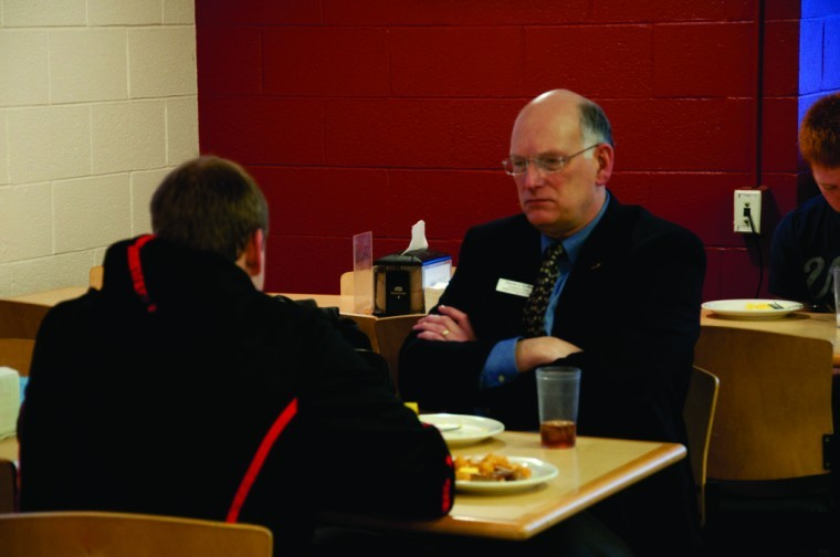 Students can eat with the dean