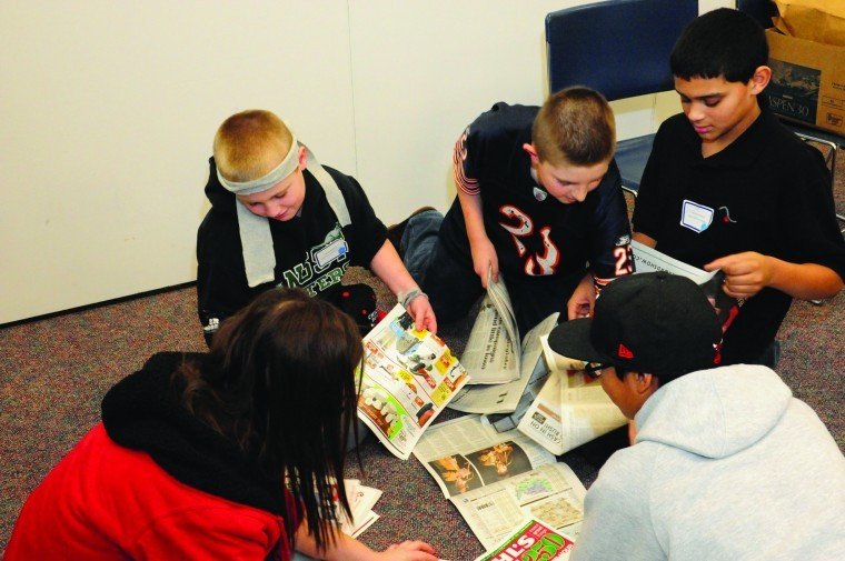 Students volunteer on MLK Jr. Day